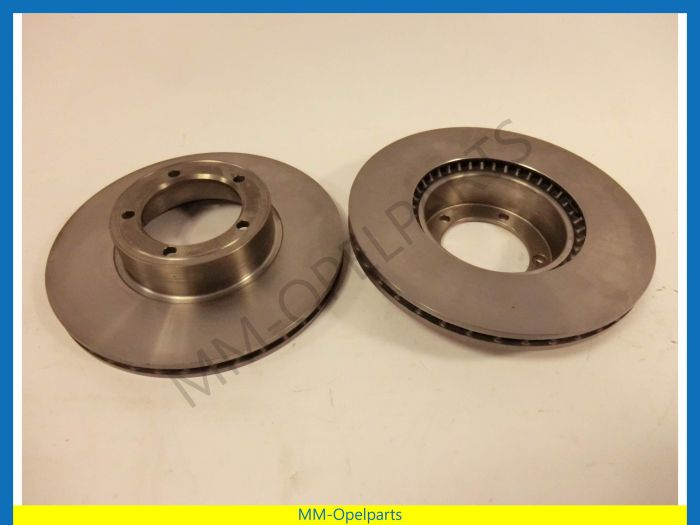 Brake discs  front, SET   (2.0E only airco)2.5E/2.8H/3.0  until Ch. E1019585