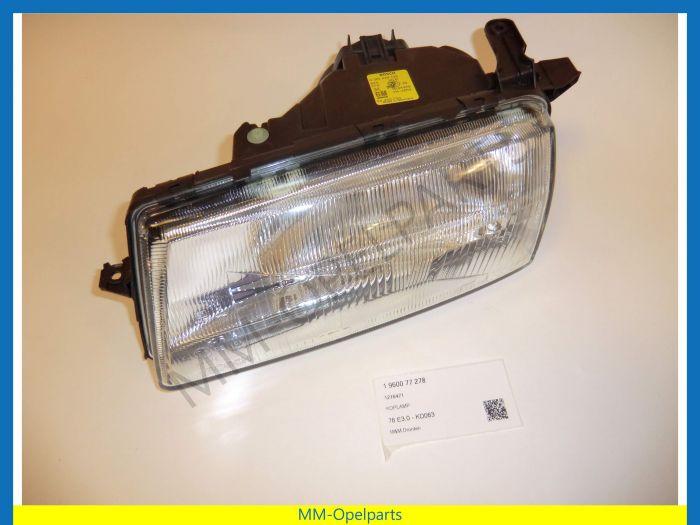 Headlight left H4 Vectra 92-95