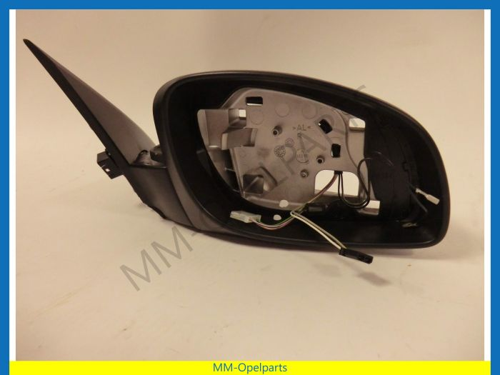 Mirror Vectra C electric right without cover without glass