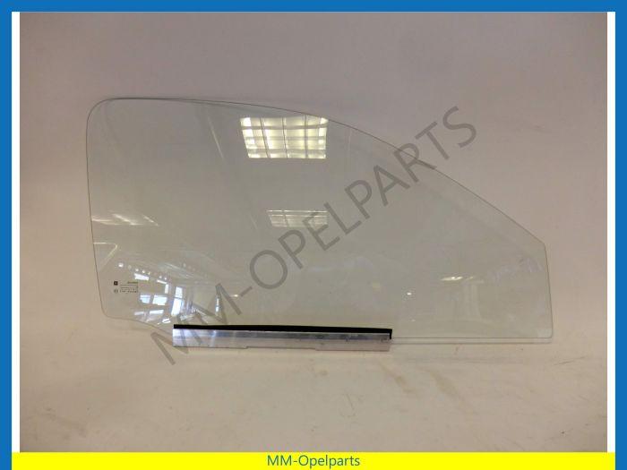 Door window right 3-drs hatchback VAN clear