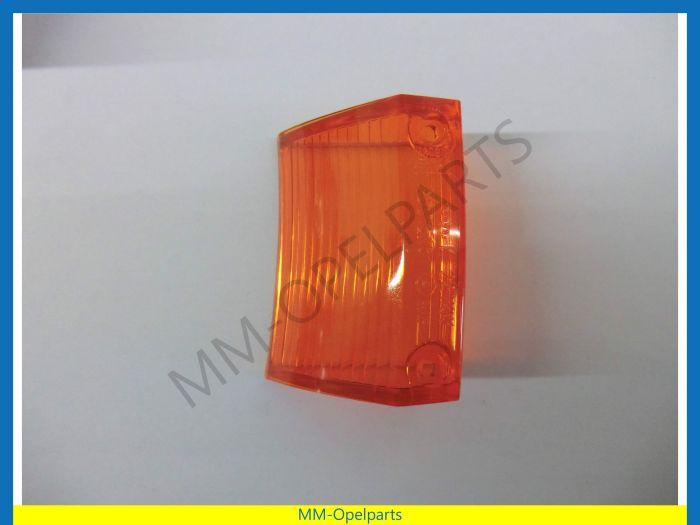 Indicatorglass left orange