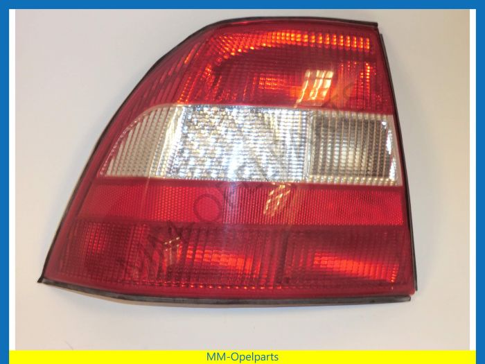 Rear lamp left cpl., red, crystal, Vectra B -99 left -99