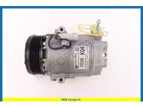 Air conditioning compressor, Delphi (Ident KQ4)