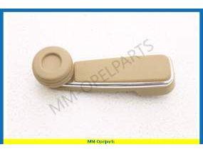 Handle window regulator  Beige with chrome moulding