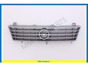 Radiator grille siver  from Vin-number  D1003807