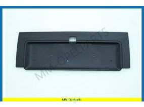 Cover trunk lid, black, until Vin-number L1019854