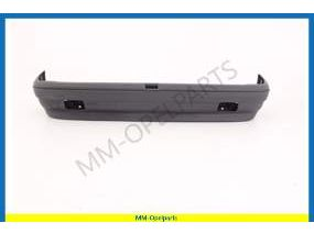 Rearbumper blue/grey, with foglights, (see info)