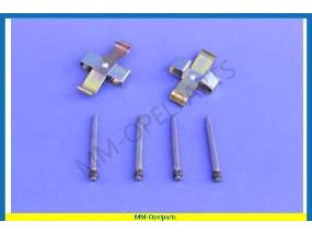 Brake pad pins and plate SET (left + right)
