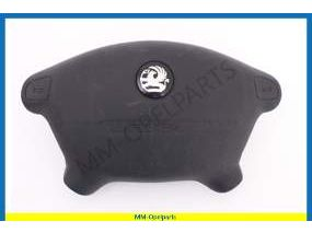 Airbag, steering wheel, for radiocontrol on steering wheel (VAUXHALL)