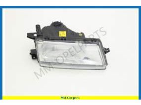 Headlight complete  right  with headlight height adjustment Bosch