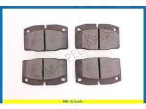 Brake pads, asbestos free