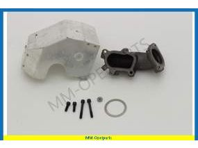SET mounting parts, heat protection turbocharger