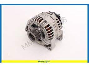 Alternator, 12V 140AMP, with electric heater system