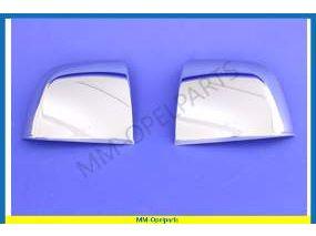 Chromed mirror cover, SET
