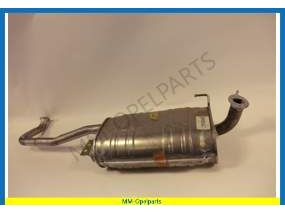 Middle exhaust pipe  3.1TD until t/m  4/95(AE/JF)
