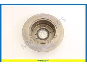 Brake disc / Brake drum, rear, (per piece)