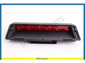Additional brake light, black