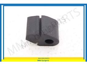 Damping rubber, door