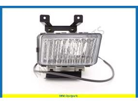Fog light H3, front, right, clear lens, (Ident KQ) (HELLA)