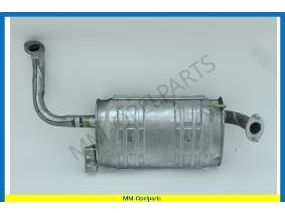 Middle silencer 31TD  2-drs DC   untill 4/95(AE/JF)