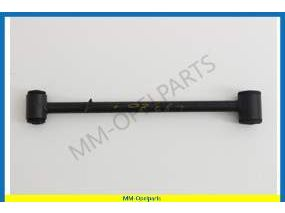 Control arm with damper bushing right