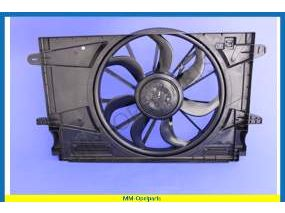 Fan motor, with frame, BOSCH