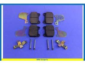 Brake pads brake disc, complete SET  1.2/1.6/1.7/1.9/2.0