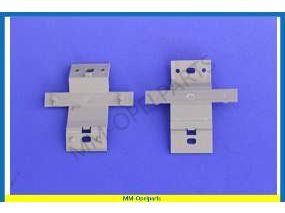 Fuel inlet cover hinge set