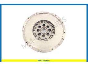 Dual mass flywheel, Valeo, Ident JU
