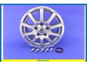 Alloy wheel, Ronal R38, 7,0×15 ET38 5x110 + Kit set (5 Holes)