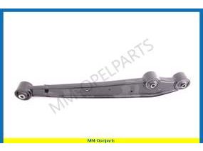 Control arm rear axle right including bearing