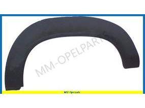 Wheel arch left