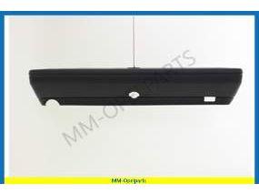 Rear bumper with carrier bleu/grey