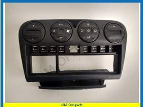 Instrument panel, electronic air conditioning control