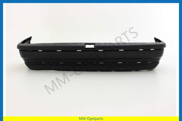 Rearbumper Black, without beam