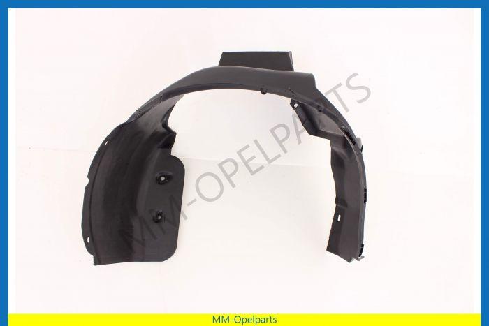 Inner rear wheel arch, left (For headlight washers)
